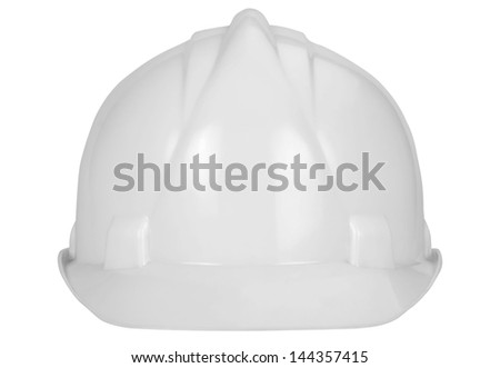 Close-up of a hardhat - stock photo