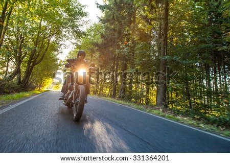 Close up of a high power motorcycle - stock photo