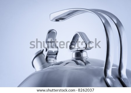 Close-up of a kettle - stock photo