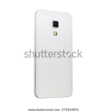 Close up of a Mobile Phone Camera - stock photo