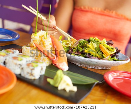 Joyful lobster stock photos royalty free images for African american cuisine