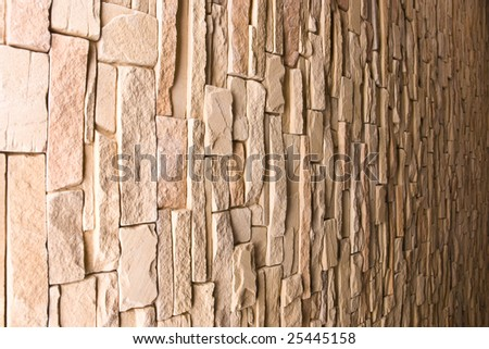 Close up of a stacked stone 3 - stock photo