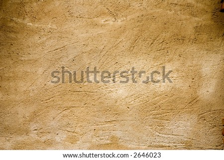 Close-up of an aged wall; rough texture - stock photo