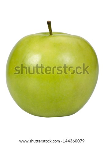 Close-up of an apple
