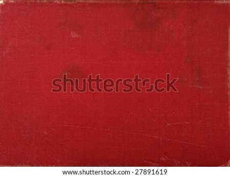 close up of  antique fabric texture background - stock photo