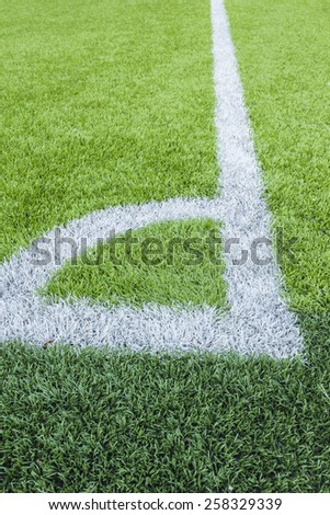 Close-up of artificial turf Illustration about the sport.