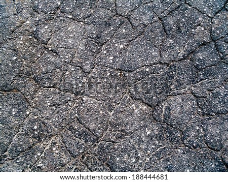 close up of asphalt texture background - stock photo
