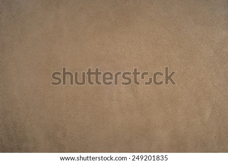 Close Up of beige leather texture background. - stock photo