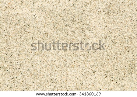 Close-up of bright beach sand for texture or background