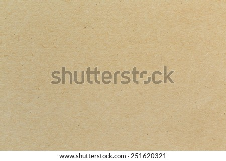 Close up of brown paper texture - stock photo