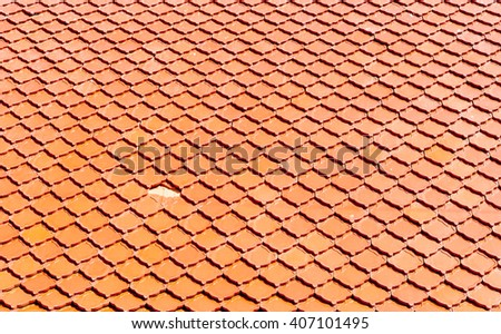 close up of brown roof texture