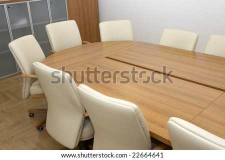 close up of businessman office meeting table