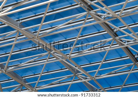 Close up of Canopy at High School