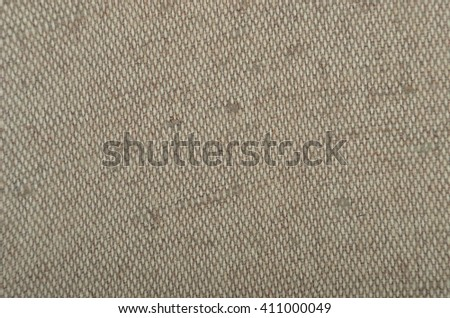 Close-up of canvas textured fabric cloth background - stock photo