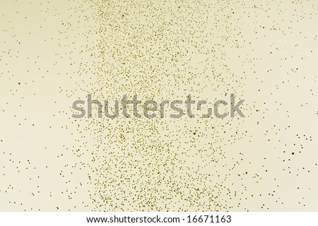 Close-up of champagne bubbles. - stock photo