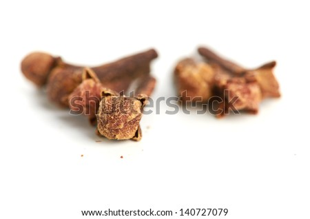 Close up of cloves
