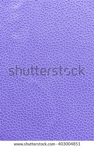 Close up of color foam texture, taken from top view in various color