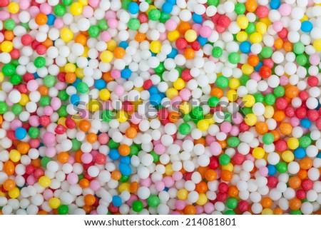 Close up of Colorful candy - stock photo