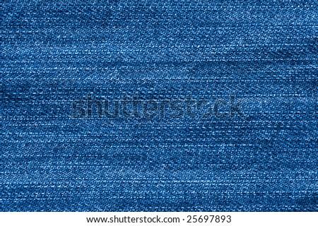 Close-up of denim cloth.Worn jeans. - stock photo