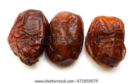 Close up of Dried dates
