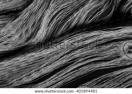 close up of elegant black silk - fashion design - abstract background
