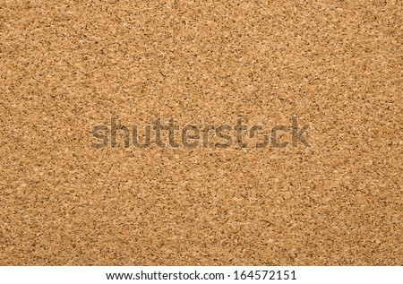 Close up of empty cork board, bulletin board with copy space - stock photo