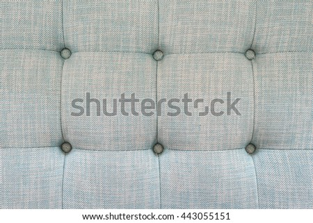 close up of fabric sofa pattern as texture background image - stock photo