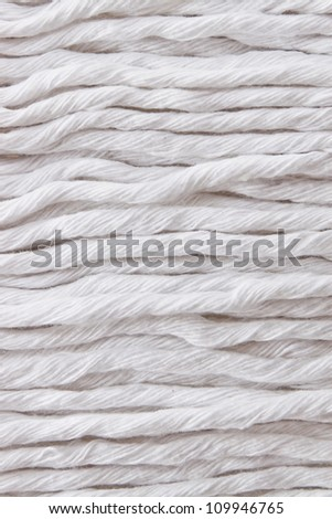 close up of fabric texture - stock photo