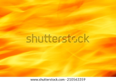 close up of flame - stock photo