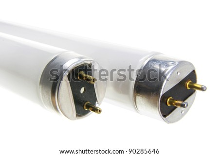 Close Up of Fluorescent Tubes