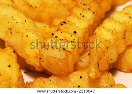 Close-up of French Fries - stock photo