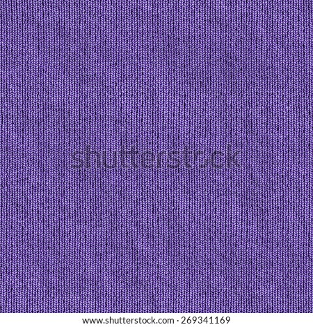 purple carpet texture. Close-up Of Front Stockinette Stitch. Sqare Seamless Texture. Purple Carpet Texture