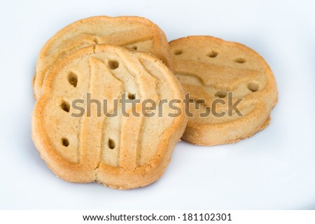 Close up of Girl Scout cookies - stock photo