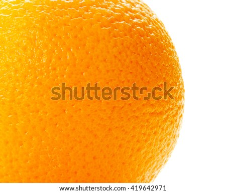 Close up of grapefruit or orange texture - stock photo
