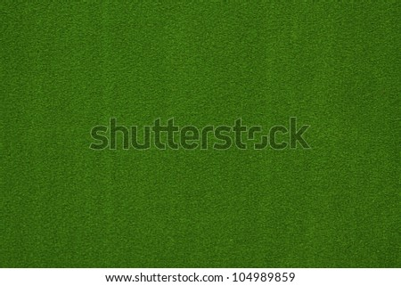 Close-up of green poker table felt background - stock photo