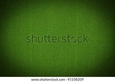 Close up of green poker table felt background stock photo