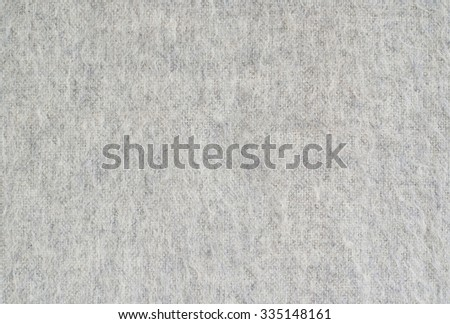 close up of grey cashmere textile - stock photo