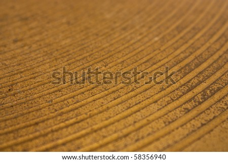 Close up of Hi Hat Surface - stock photo