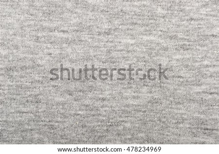 Close-up of jersey fabric textured cloth background
