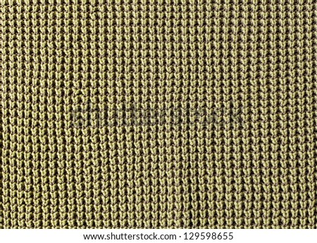 Close up of knitted texture - stock photo