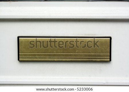 close up of letter box on house front door & Door Letter Box Stock Images Royalty-Free Images \u0026 Vectors ... Pezcame.Com
