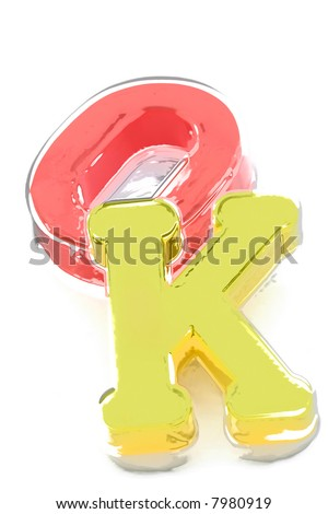 Close-up of letters. More from this series on my portfolio. Another series are also available! - stock photo