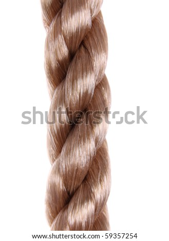 Close up of line isolated over white background