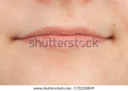 Close-up of lips