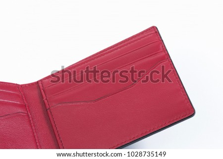 Close up of men's wallet