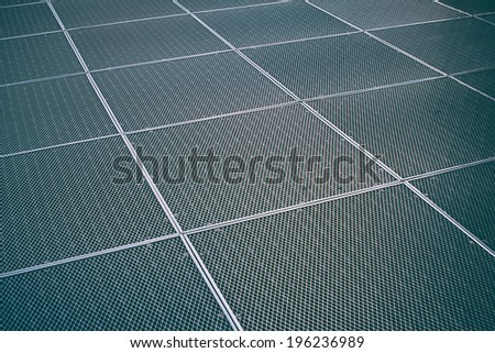 close up of metal protective net
