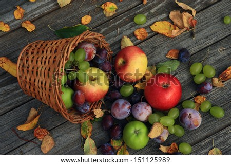 Close up of mixed vegetables - stock photo