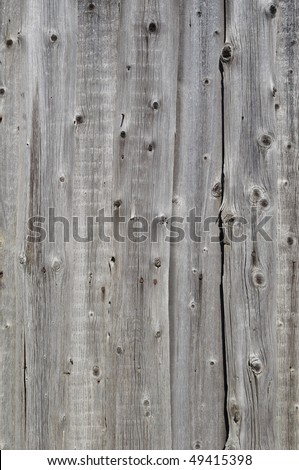 Close up of natural weathered rough wooden boards background - stock photo