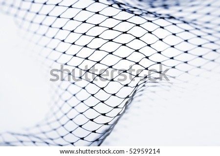 Close-up of netting - stock photo