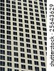 Close up of office buildings in downtown Los Angeles in daytime. - stock photo